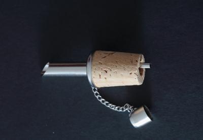 Tappo con Versatore in acciaio