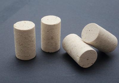 Agglomerate 1+1 cork cap